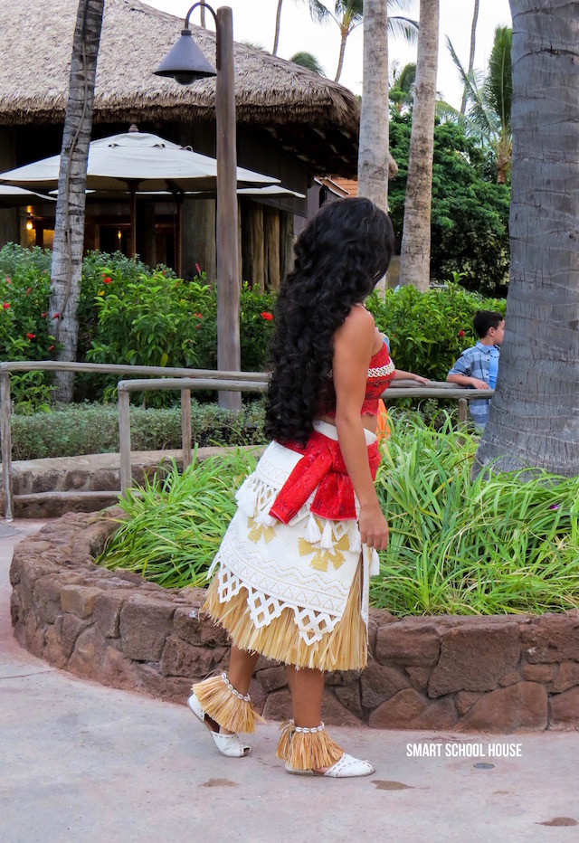 See Moana in real life at Aulani!