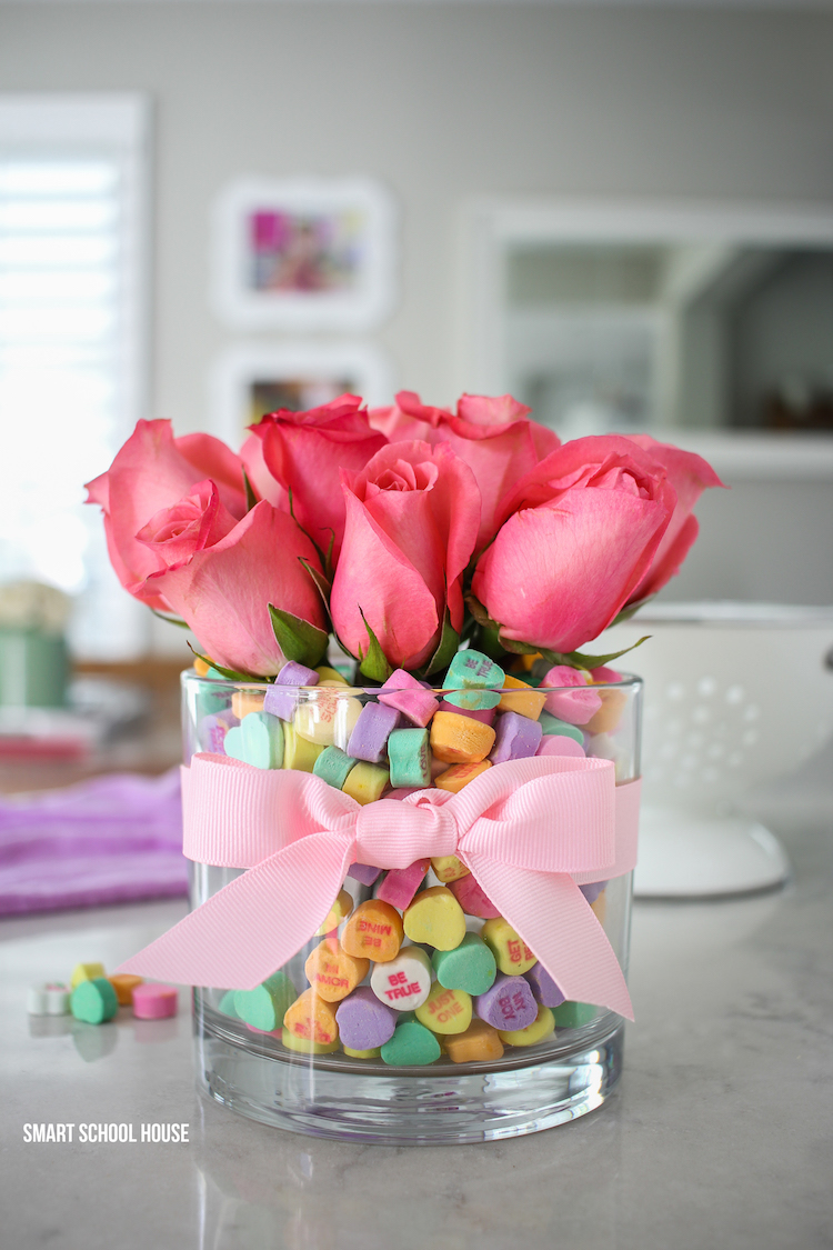 Conversation Heart Rose Bouquet
