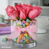Candy Heart Valentine Bouquet