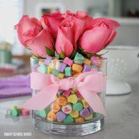 Candy Heart Valentine Bouquet