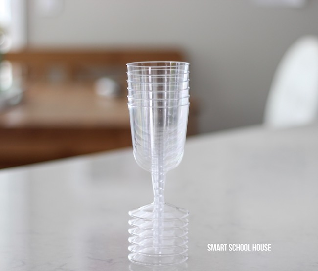 Dollar Store Plastic Wine Glass