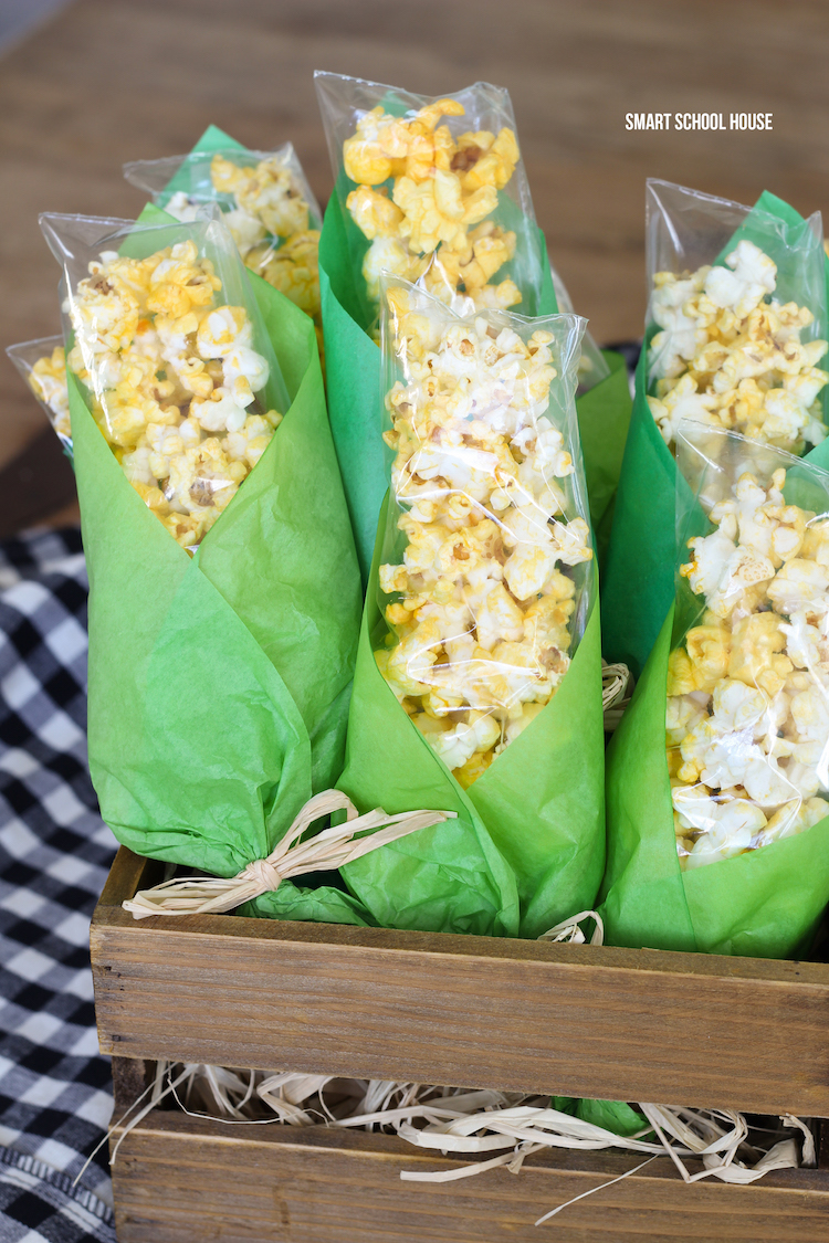 Popcorn Corn on the Cob treat bags