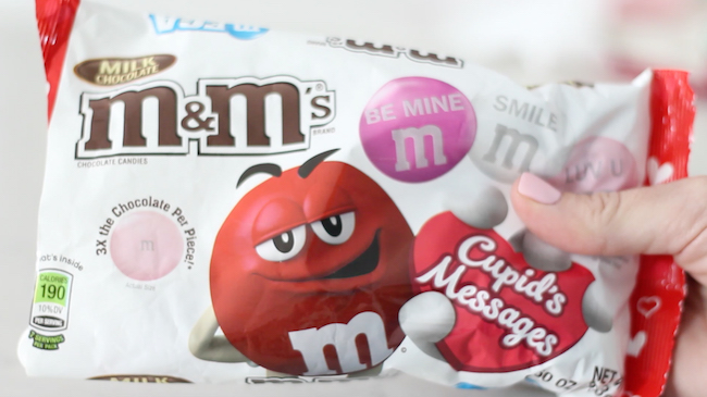 Valentine's Day M&M's