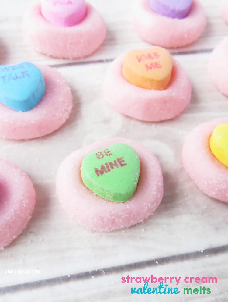 Conversation Heart Candy Melts