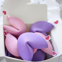 How to Make Valentine Fortune Cookies