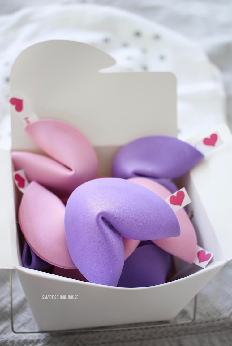 how to make valentine fortune cookies diy pink and purple fortune cookies for valentines day
