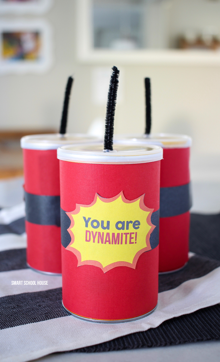 You Are Dynamite Pringles Cans