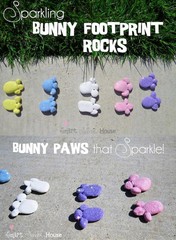 Bunny Footprint Rocks