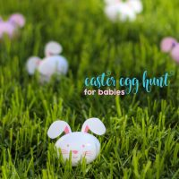 Easter Egg Hunt for Babies