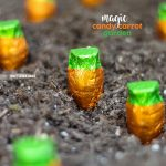 "Magic candy carrot garden! How to grow chocolate carrots for spring using candy ""seeds""- Kids LOVE THIS!"