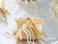 Strawberry Cream Cheese Wontons
