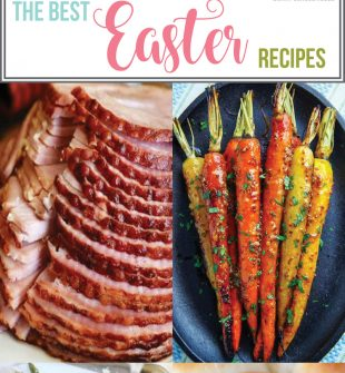 The Best Easter Recipes - Find the perfect recipes for a beautiful Easter brunch and Easter dinner, including glazed ham and cute Easter desserts.