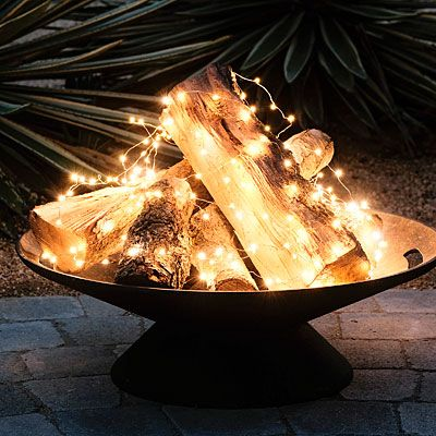How neat is this? It's SO EASY to make! Get the lights here: