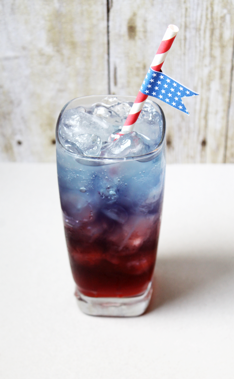 Red, White, and Blue Drinks