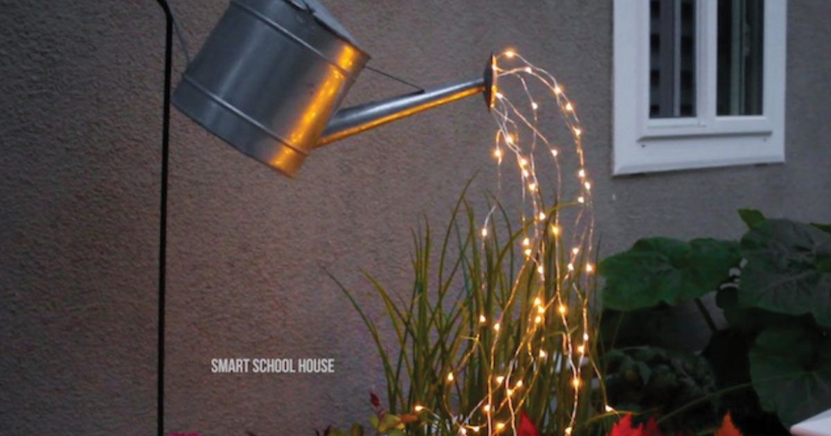 Watering Can with Lights