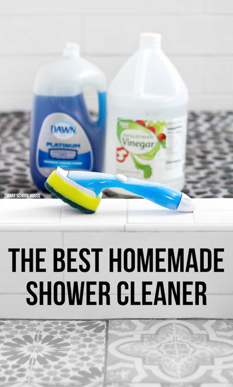 the best homemade shower cleaner try the best 2 ingredient homemade shower cleaner on tough