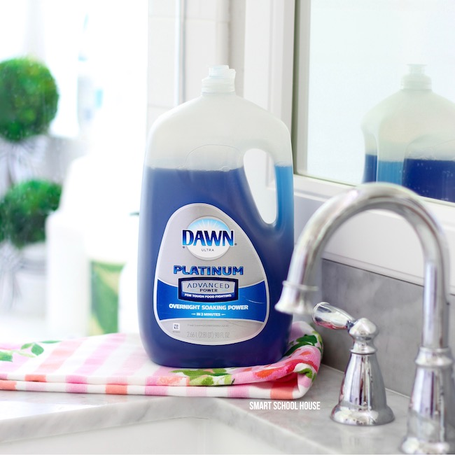 how to make dawn and vinegar cleaning solution