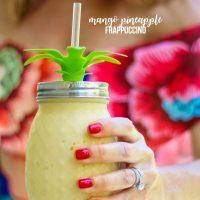 Mango Pineapple Frappuccino Recipe
