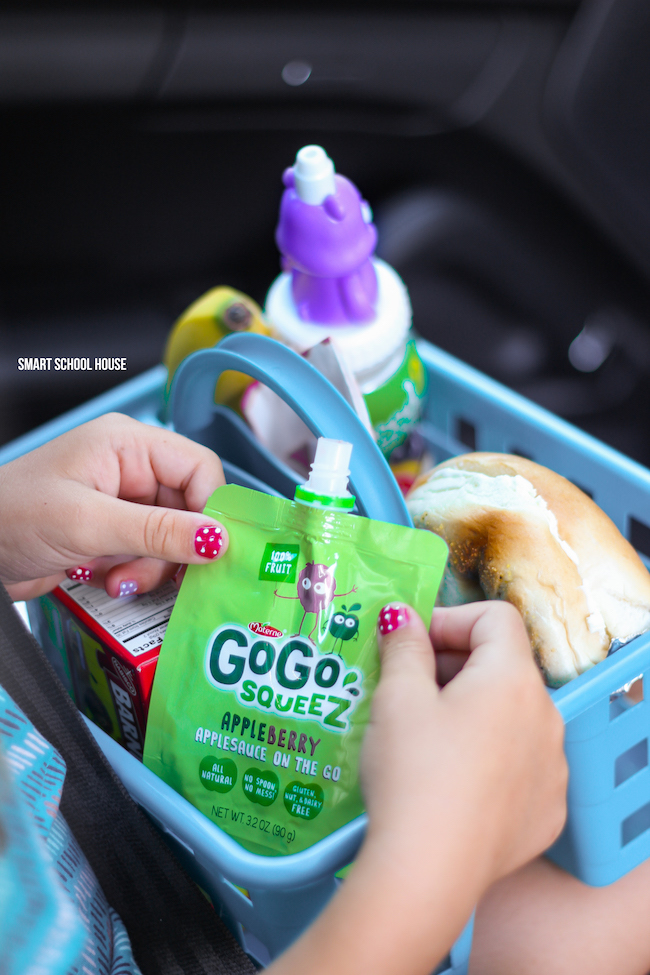 Snack Caddy to Go! Make one for kids on-the-go!