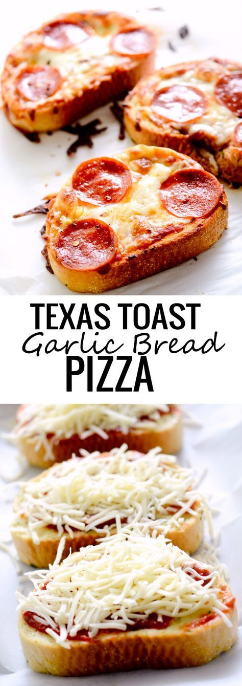 This is the easiest pizza I've ever made and it comes together in 5 minutes. It takes just as long as the Texas Toast takes to cook in the oven. Top with your favorite pre-cooked pizza ingredients and you've got an easy lunch or dinner in no time.