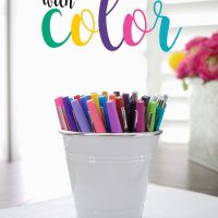 Worksheets with Color