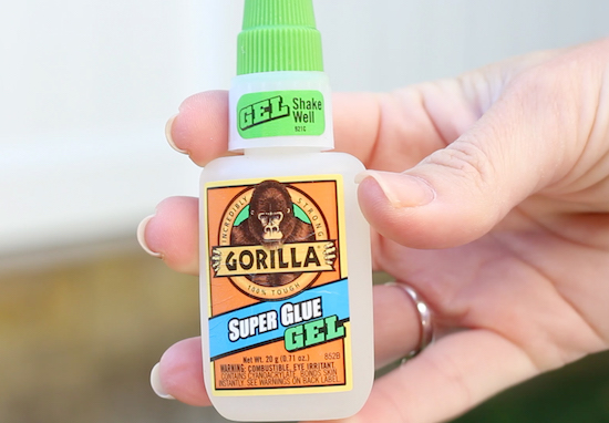 gorilla glue for outdoor Halloween decorations