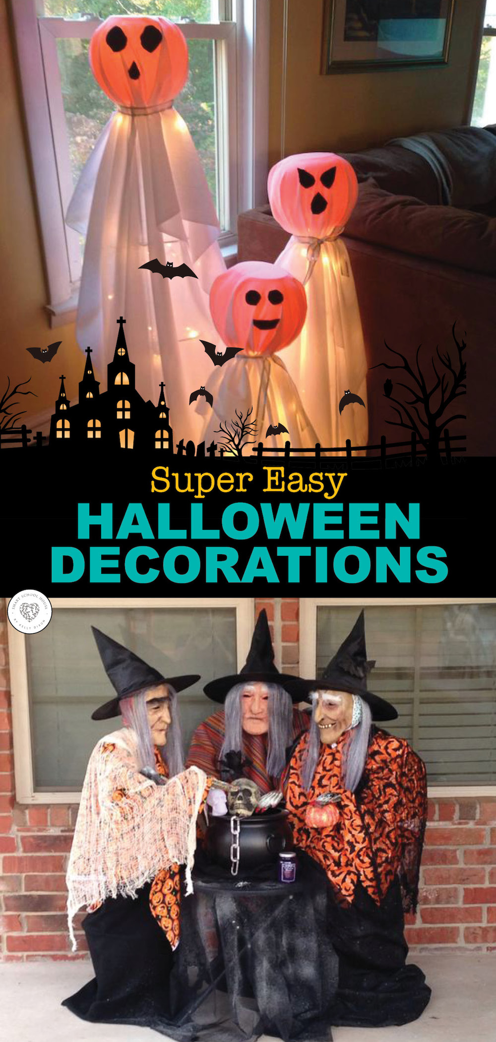 Easy DIY Halloween Decorations Smart School House