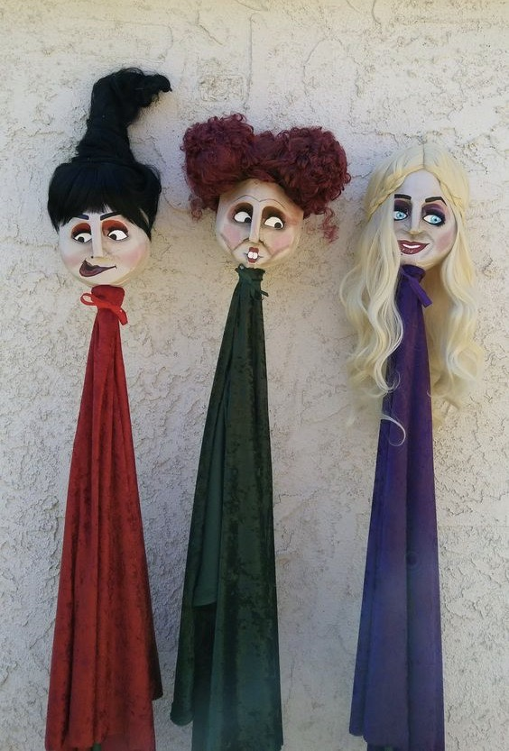 Sanderson Sisters Made out of Milk Cartons!