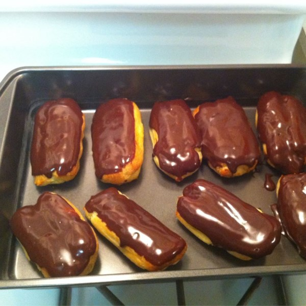 How to Make Eclairs. They taste like they came fresh out of a bakery!