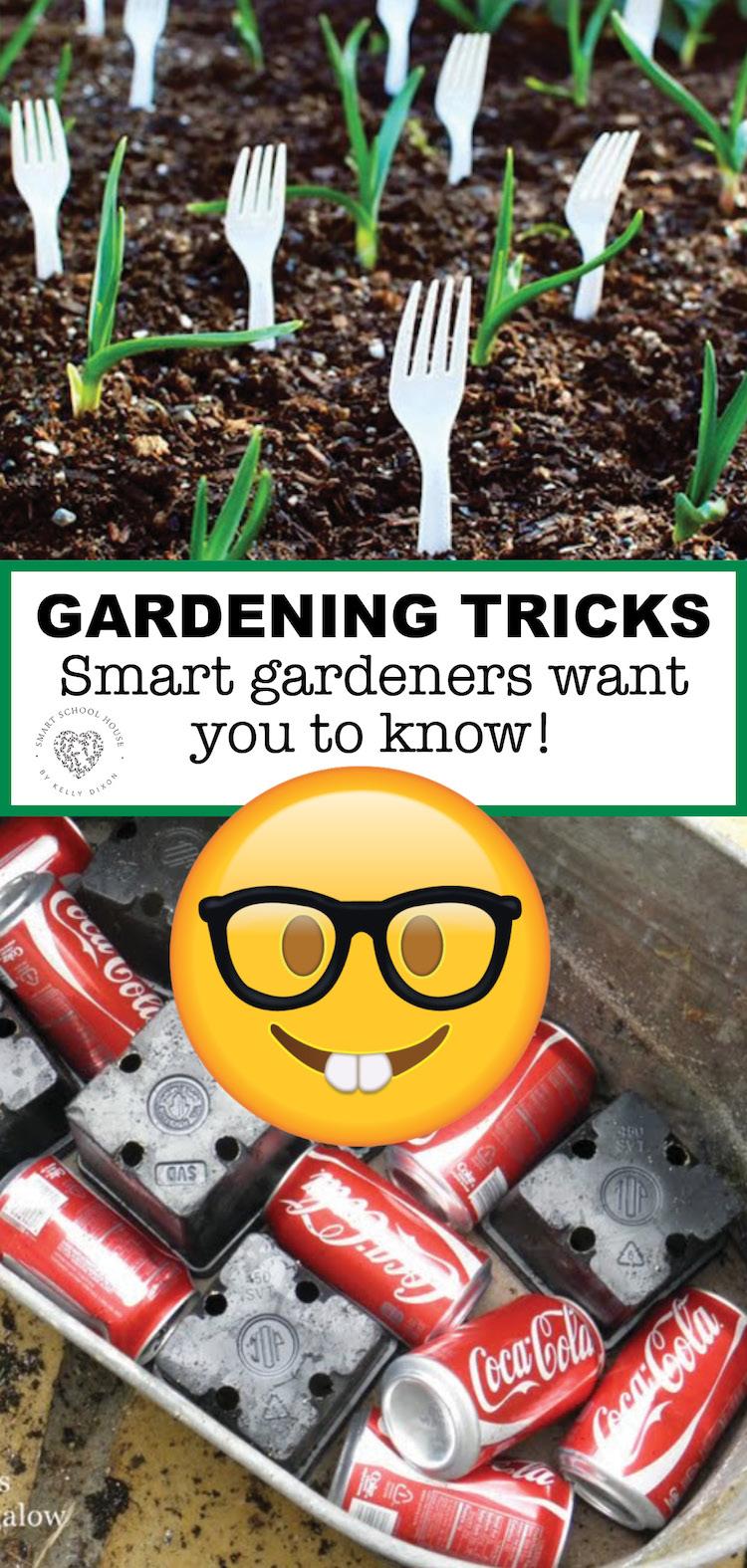 Gardening Tricks that smart gardeners want you to know! #Gardening #GardeningHacks