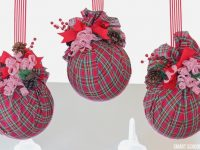 Big Plastic Ball Ornaments