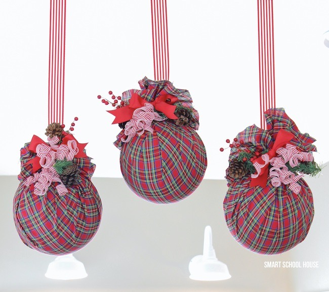 Plastic Ball Ornaments