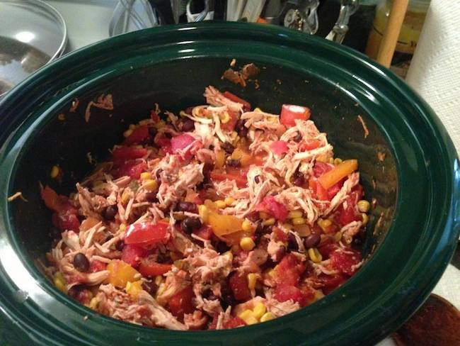 """Crock Pot Chicken Recipe - One person said, """"Made this and added green pepper and onions!!! Is wonderful!!!!"""""""