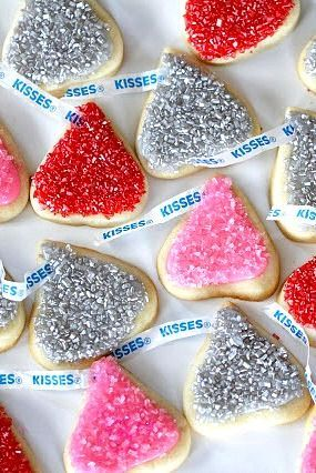Hershey's Kisses Sugar Cookies - homemade!
