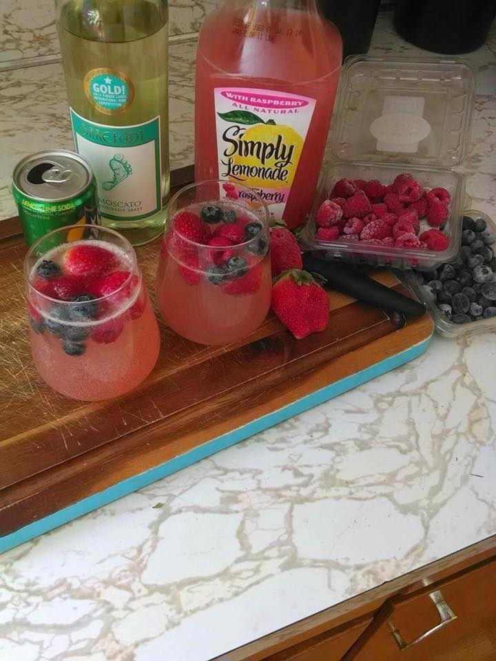 Mother's Day Moscato Wine Punch