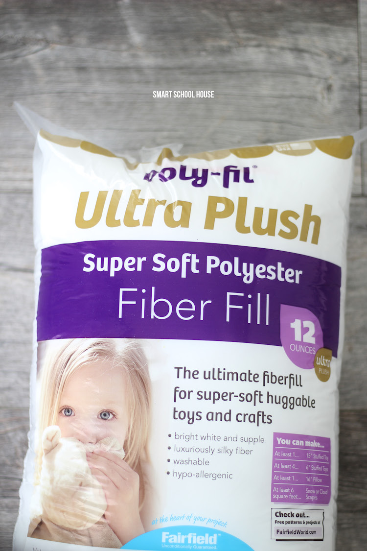 Fiber Fill to Make Homemade Squishies