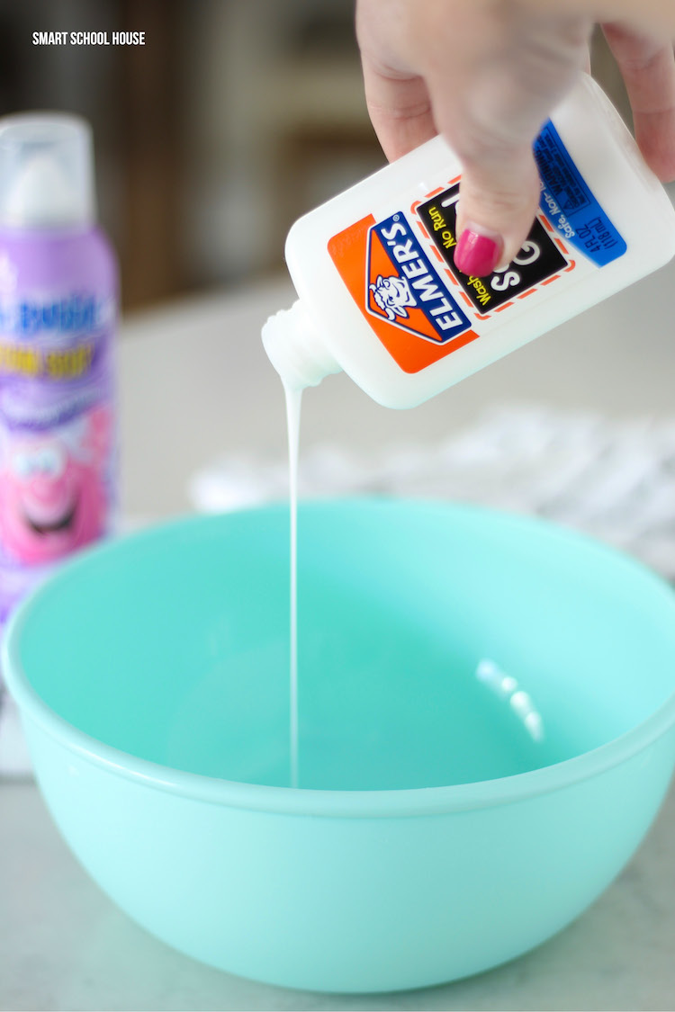 How to make mr. bubble slime without glue
