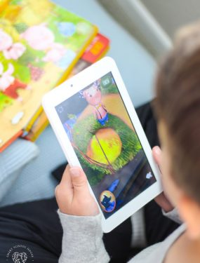 Where technology and literacy combine to help struggling readers discover a love of books! Little Hippo AR brings classic fairytales to life in a meaningful, educational, and FUN way. Great for kids who love video games! Or, and educational Easter gift idea!