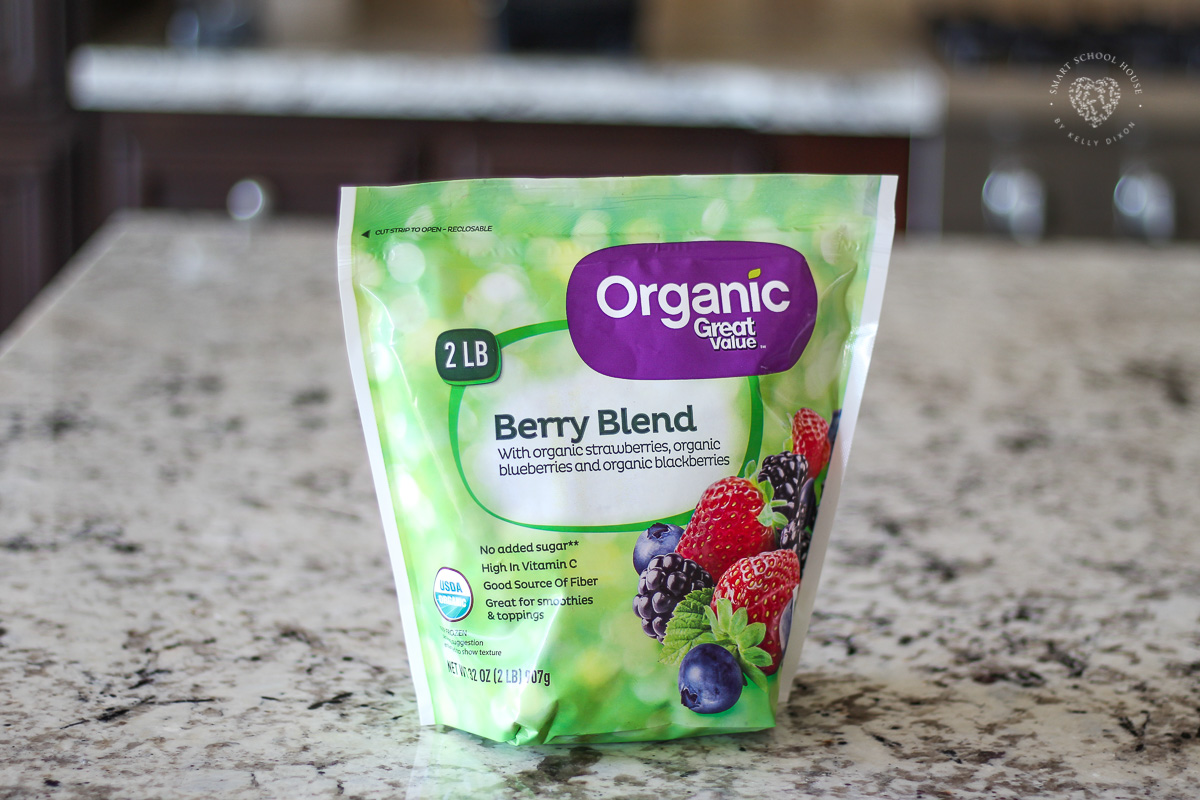 Frozen Organic Berry Blend for Smoothie Bowls
