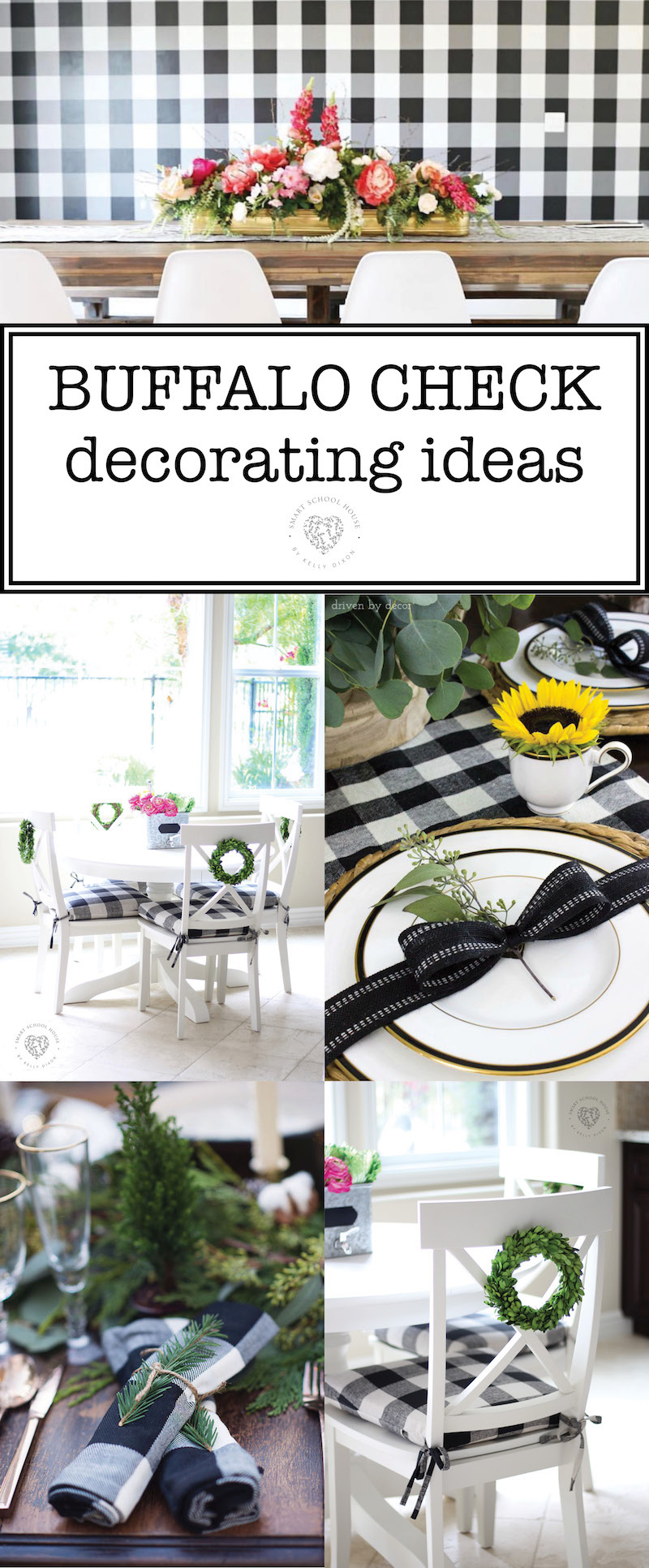 Buffalo check decor ideas