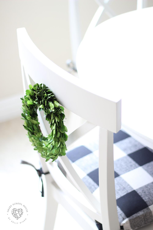 Buffalo Check Dining Chairs