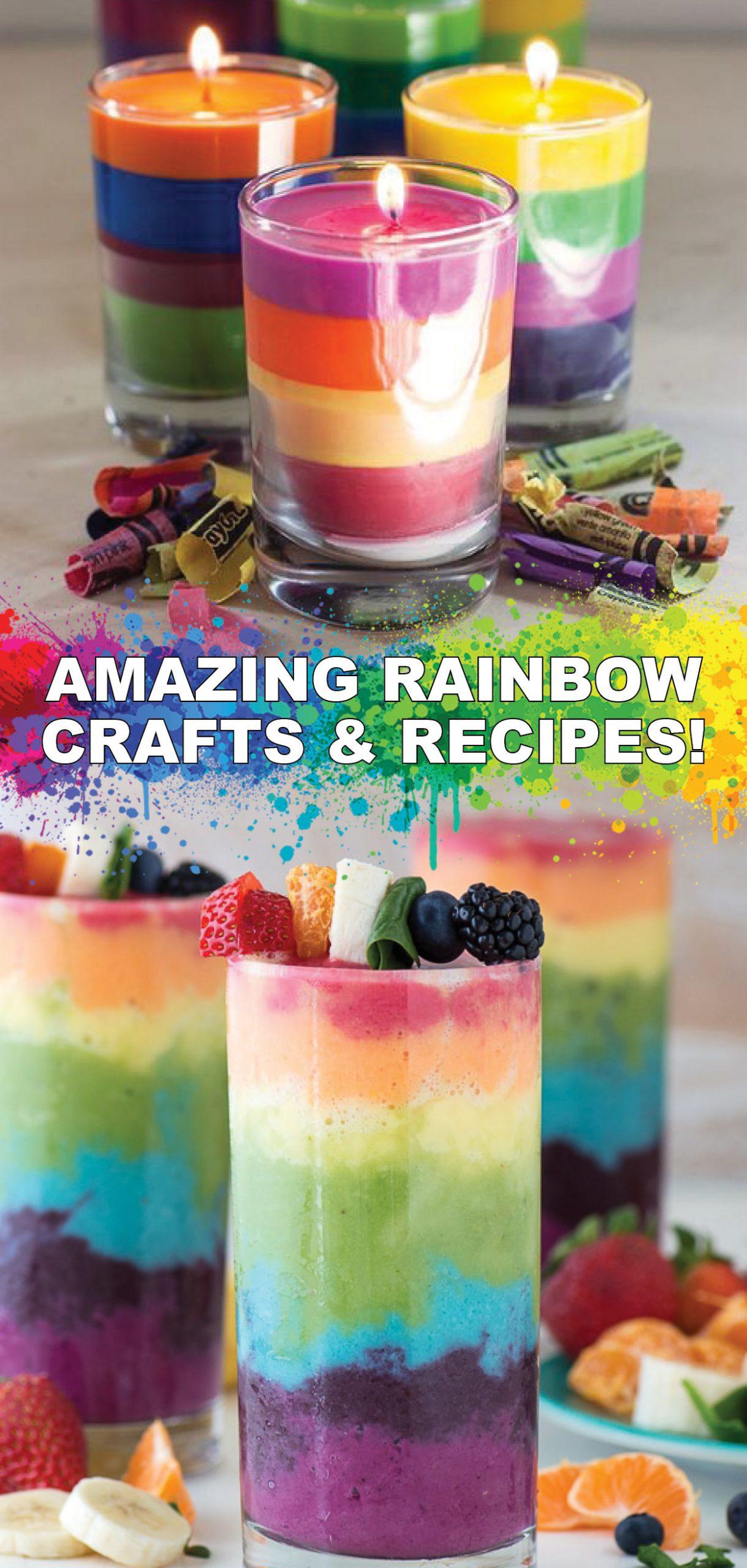 Rainbow Crafts and Recipes