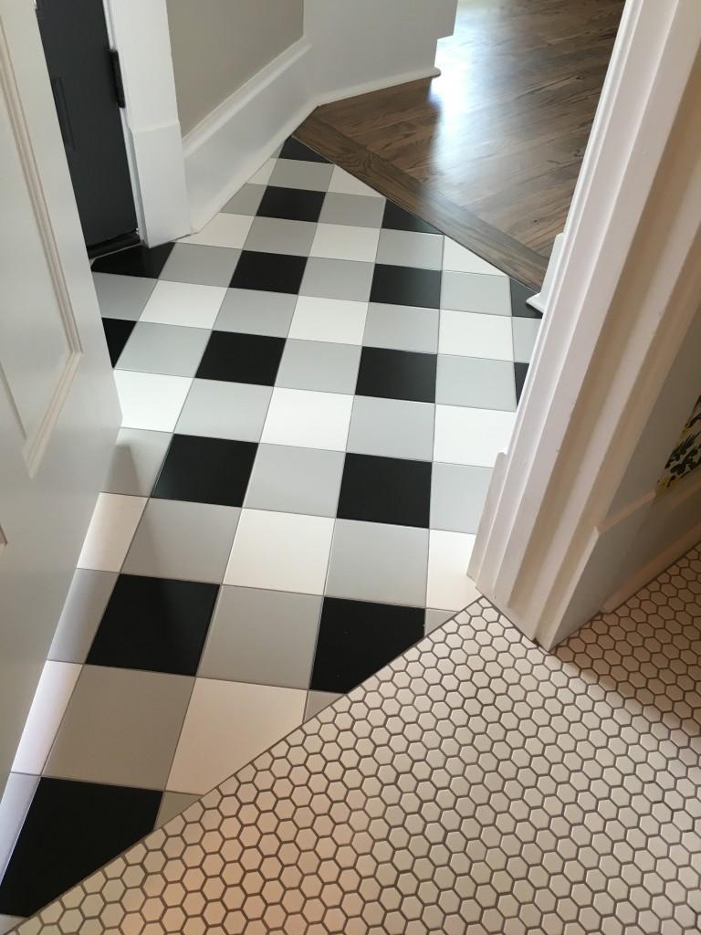 Buffalo Check Floor Tiles