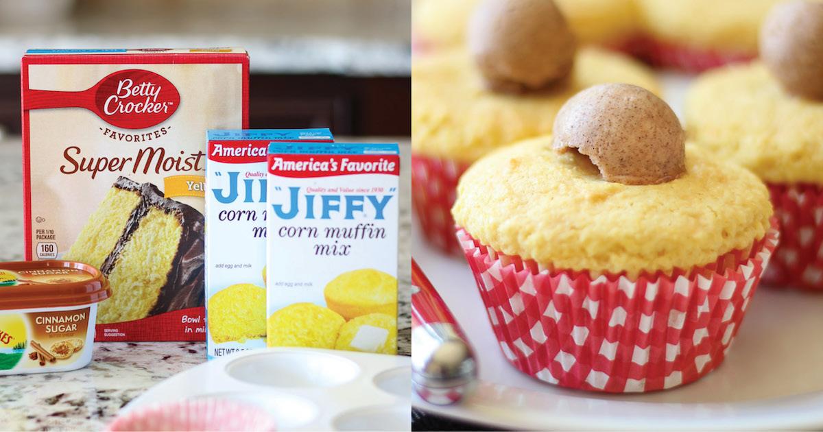 Cornbread Cupcakes Smart School House