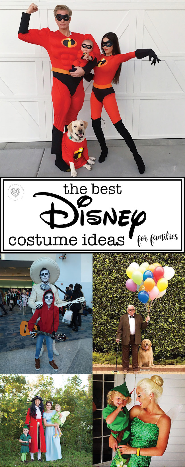 The BEST Disney Costume Ideas for Families! #Disney #Halloween #CostumeIdeas