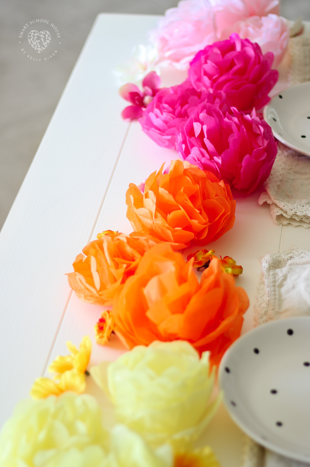 How to make tissue paper flowers smart school house how to make tissue paper flowers diy tissue paper flowers are simple quick mightylinksfo