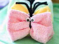 Washcloth Butterflies