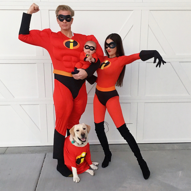 Incredibles Family Costume #Disney #Halloween #CostumeIdeas