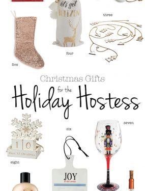 Christmas Gifts for the Holiday Hostess