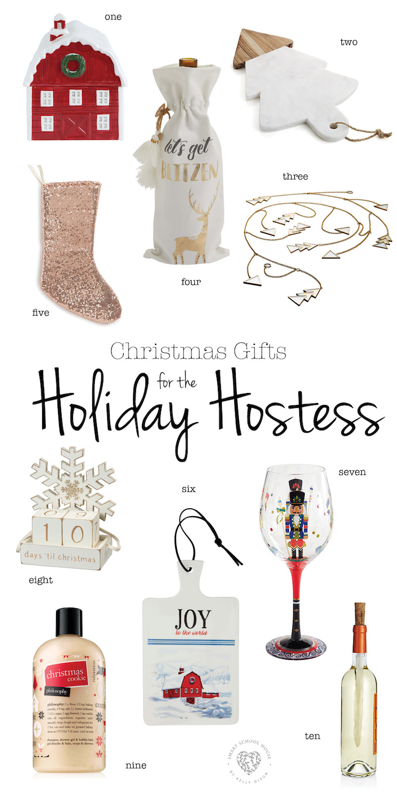 Gifts for the Holiday Hostess - Smart School House